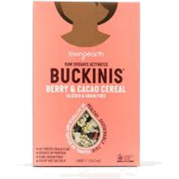 Photo of Loving Earth - Buckwheat - Buckinis Berry & Cacao Cereal - 400gm