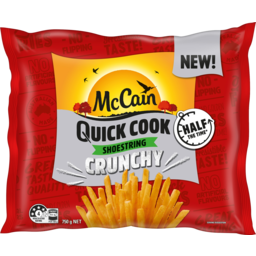 Photo of Mccain Quick Cook Crunchy Shoestring Fries 750g