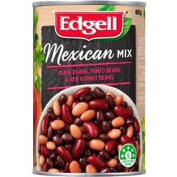 Photo of Edgell Mexican Bean Mix 400g