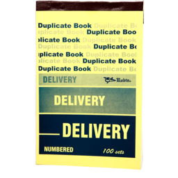 Photo of Duplicate Book: Note Size - Delivery