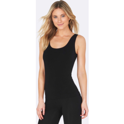 Photo of BOODY BAMBOO Womens Tank Top Black L