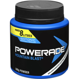 Photo of Powerade Isotonic Powder Mountain Blast 500g