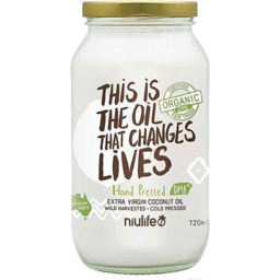 Photo of Niulife Extra Virgin Coconut Oil 720ml