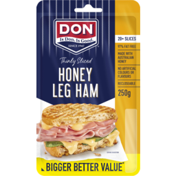 Photo of Don® Thinly Sliced Honey Ham 250g