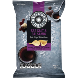 Photo of Red Rock Deli Sea Salt & Balsamic Vinegar Chips