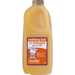 Photo of Nudie Nothing But Orange Juice With Pulp 2l