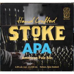 Photo of Stoke APA 4.8% 330ml Bottles 12 Pack