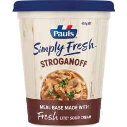 Photo of Pauls Simply Fresh Stroganoff Meal Base 450g