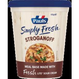 Photo of Pauls Simply Fresh Stroganoff Meal Base 450g