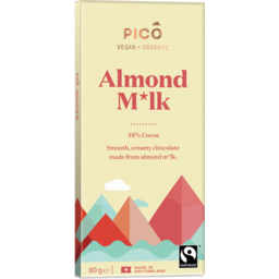 Photo of Almond Milk Chocolate 80g