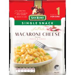 Photo of San Remo La Pasta Single Serve Macaroni Cheese 80g