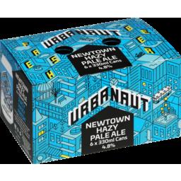 Photo of Urbanaut Beer Newtown Hazy Pale Ale 6 Pack X 330ml