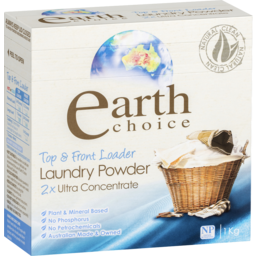 Photo of Earth Choice Top & Front Load Laundry Powder 1kg