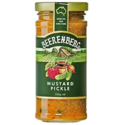Photo of B/Berg Mustard Pickles 260g