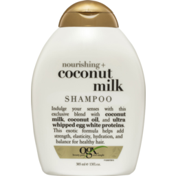 Photo of Ogx Nourishing + Coconut Milk Shampoo 385ml