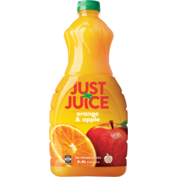 Photo of Just Juice Orange & Apple 2.4L