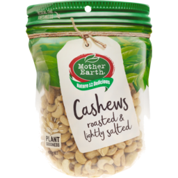 Photo of Mother Earth Cashew Roasted & Salted 400g