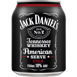 Photo of Jack Daniel Old No.7 American Serve & Cola Can