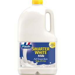 Photo of Pauls Smarter White Milk 3lt