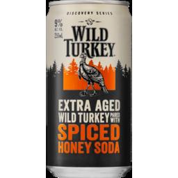 Photo of Wild Turkey American Honey & Soda Can