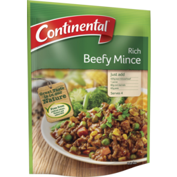 Photo of Continental Family Favourites Rich Beefy Mince 50g