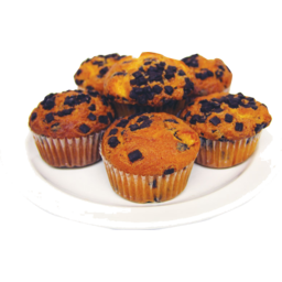 Photo of Muffins Orange Chocolate Chip 6 Pack