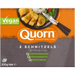Photo of Quorn Meat Free Soy Free Vegan Schnitzels 2 Pack 200g