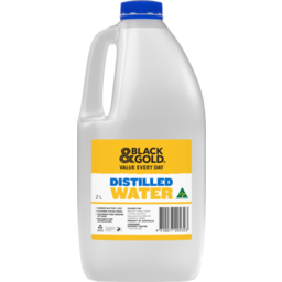 Photo of Black & Gold Distilled Water 2l