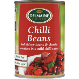 Photo of Delmaine Chilli Beans 420g