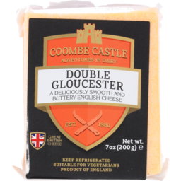 Photo of Coombe Castle Cheese Double Gloucester 200g
