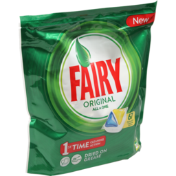 Photo of Fairy All In One Lemon Dishwasher Tablets 67x