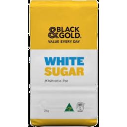 Photo of Black & Gold White Sugar 3kg