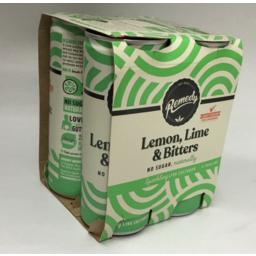 Photo of Remedy Multi Organic Kombucha Lemon Lime Bitter 4x250ml