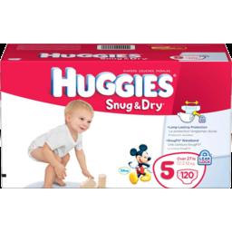 Photo of Huggies Diapers Snug & Dry Step 5 Big Pack
