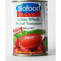 Photo of Biofood Organic Peeled Tomatoes