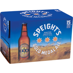 Photo of Speights Gold Medal Ale 330ml Bottles 15 Pack