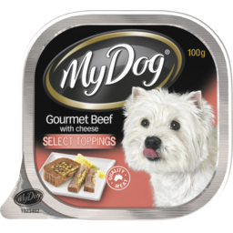 Photo of My Dog Prime Beef Topped With Cheese 100g 100g