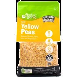 Photo of Absolute Organic  Yellow Peas – Split