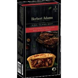Photo of Herbert Adams King Island Beef Pies 2pk