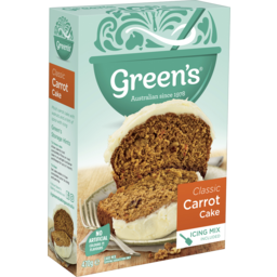 Photo of Greens Traditional Classic Carrot Cake 470g