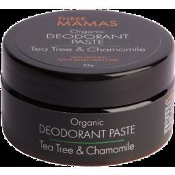 Photo of Three Mamas Deodorant Paste - Tea Tree & Chamomile