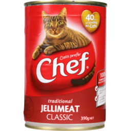 Photo of Chef Cat Food Jellymeat 390g