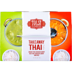 Photo of Tulsi Green Thai Curry Meal 1kg
