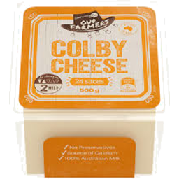 Photo of Community Co Cheese Slce Colby 500gm