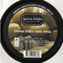 Photo of Gourmet Delights Olives With Fetta 390gm