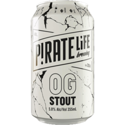 Photo of Pirate Life Og Stout Can