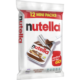 Photo of Nutella 15gmx12 180gm
