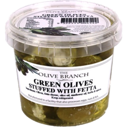 Photo of Olive Branch Green Olives Eith Fetta