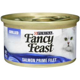 Photo of Fancy Feast Grilled Salmon Prime Filet 85g
