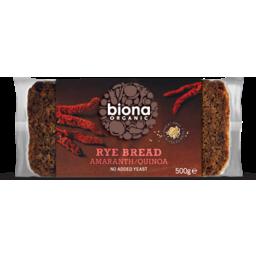 Photo of Biona Rye Bread Amara & Quinoa 500gm